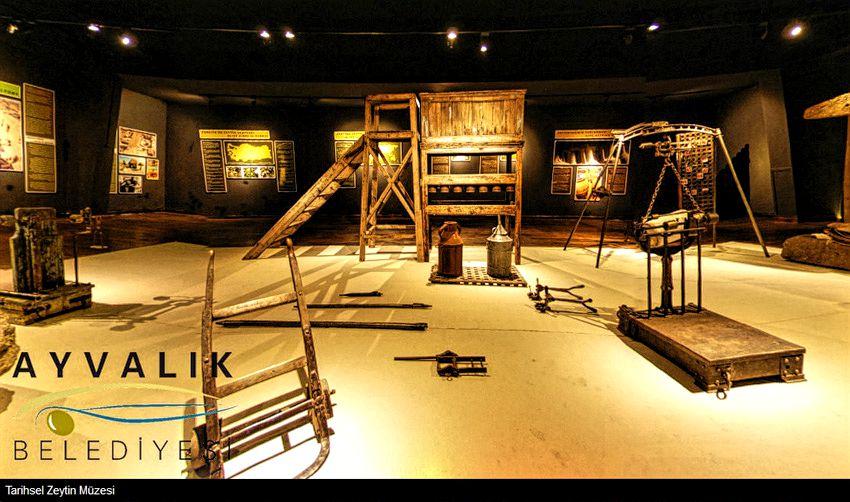 ayvalık zeytin müzesi